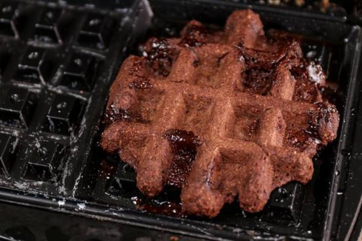 Keto Brownie Cookie Waffles
