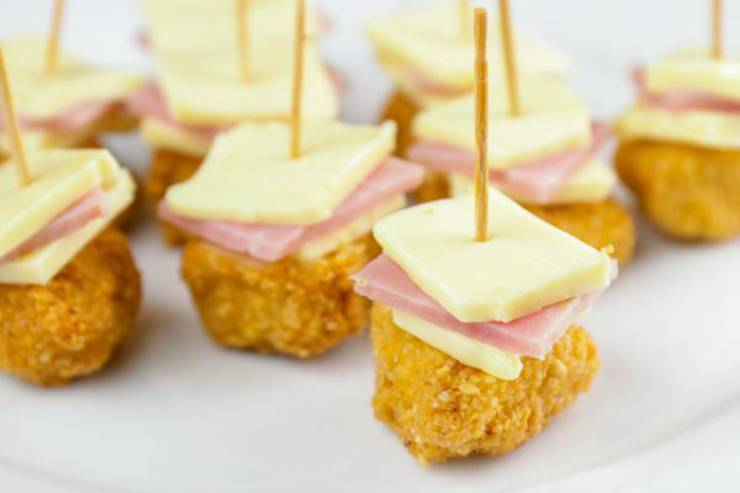 Keto Chicken Cordon Bleu Bites