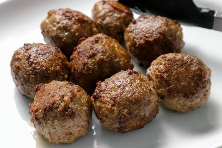 Keto Cranberry Meatballs