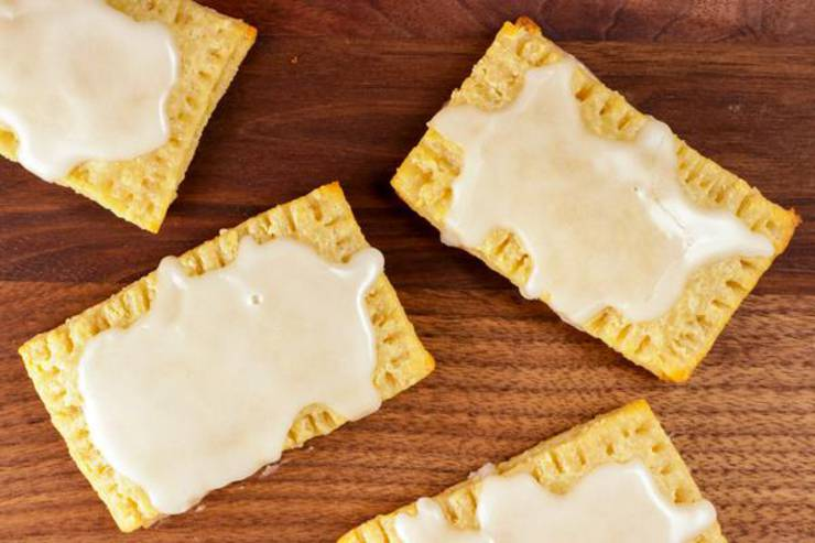 Keto Pop Tarts – {EASY} Low Carb Keto Frosted Cinnamon Sugar Pop Tarts Recipe – BEST Ketogenic Diet Idea