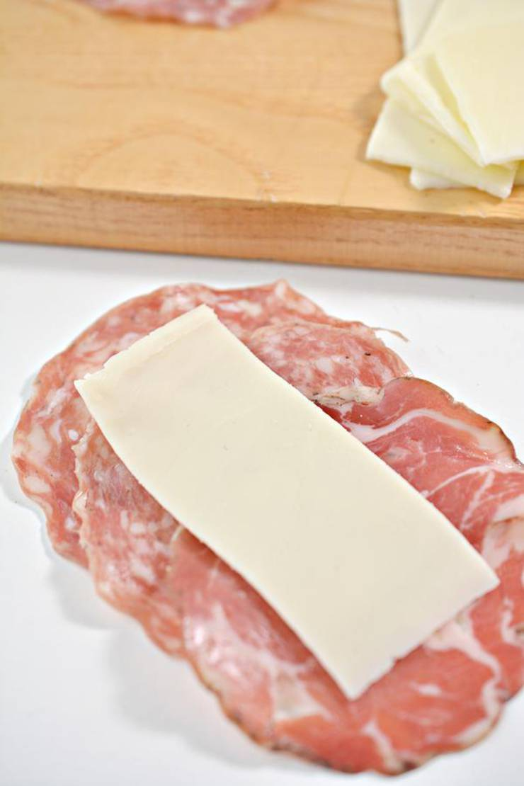 Keto Italian Sub Roll Ups