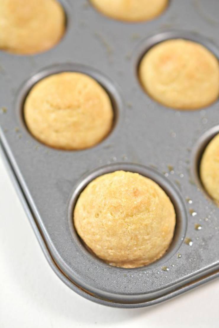 Keto Macadamia Nut Muffins