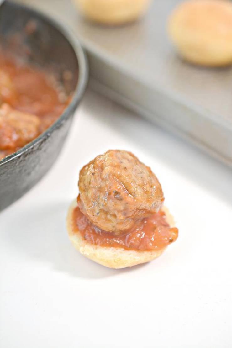 Keto Meatball Sliders