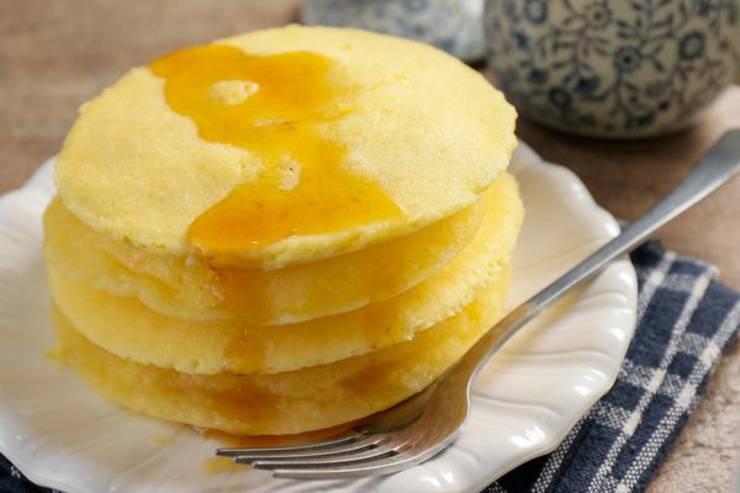 Keto Microwave Pancakes