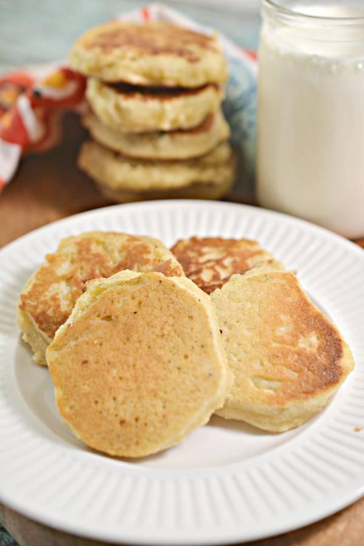 Keto Cookies! BEST Low Carb Mini Pancake Cookie Recipe – Easy Ketogenic Diet Idea – Desserts – Treats – Snacks - Breakfast Cookies