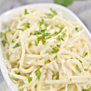 BEST Keto Noodles! Low Carb Fettuccine Alfredo Pasta Noodle Idea – Homemade - Quick & Easy Ketogenic Diet Recipe – Completely Keto Friendly