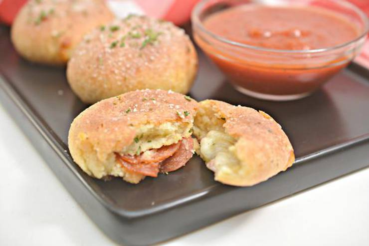Keto Pizza Bombs – BEST Low Carb Keto Pizza Cheese Puff Recipe – Easy – Gluten Free – Snacks – Appetizers – Side Dish
