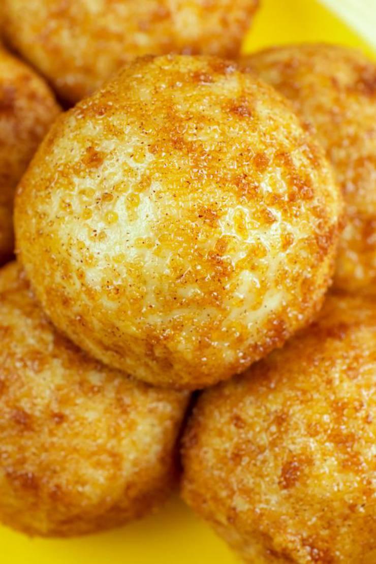 5 Ingredient Keto Snickerdoodle Fat Bombs – BEST Snickerdoodle Fat Bombs – NO Bake – Easy NO Sugar Low Carb Recipe