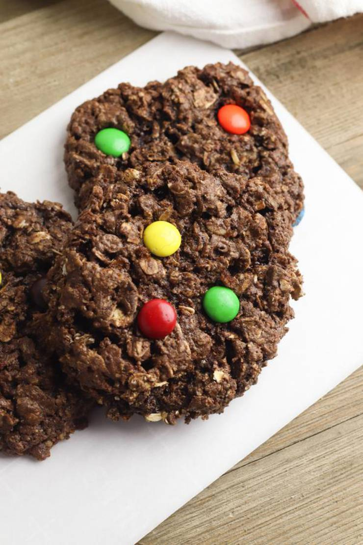 Monster Cookies! EASY Nutella Monster Cookie Recipe – Simple Desserts – Breakfast – Kids Parties