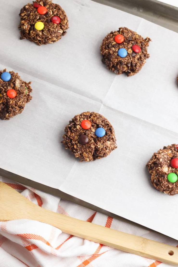 Party Food Nutella Monster Cookie