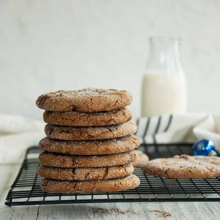 Soft Ginger Cookie Recipe With Real Ginger
