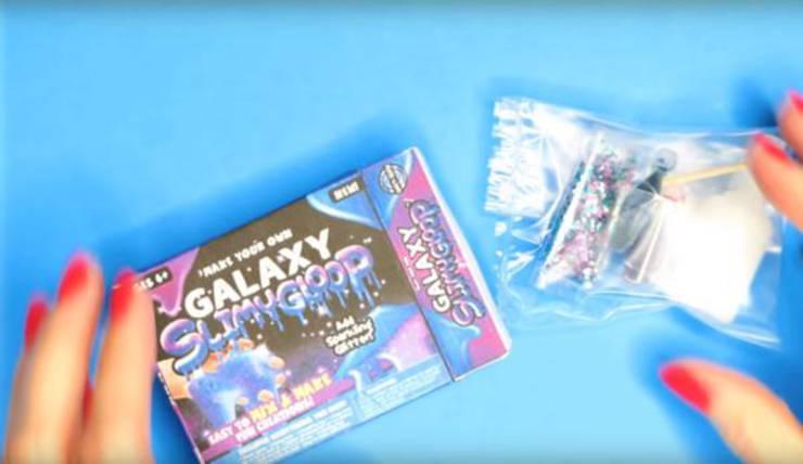 Diy Miniature Galaxy Slime