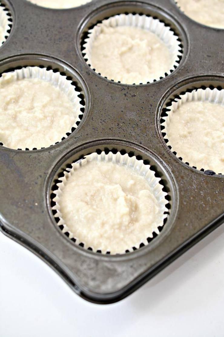 Keto 2 Ingredient Root Beer Muffins