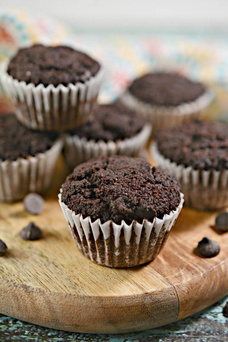 3 Ingredient Keto Mini Muffins – BEST Double Chocolate Mini Muffins – {Easy} NO Sugar Low Carb Recipe - Beginner Keto Friendly – Breakfast - Snacks – Desserts