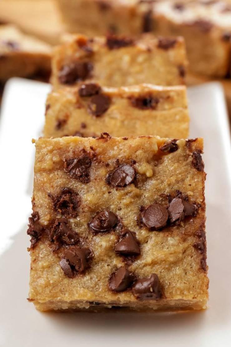 5 Ingredient Keto Brownies – BEST Chocolate Chip Brownie – Easy NO Sugar Low Carb Recipe - Keto Friendly & Beginner – Desserts – Snacks
