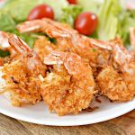 Keto Shrimp! Low Carb Air Fryer Coconut Shrimp – Ketogenic Diet Recipe – Appetizer – Side Dish – Completely Keto Friendly