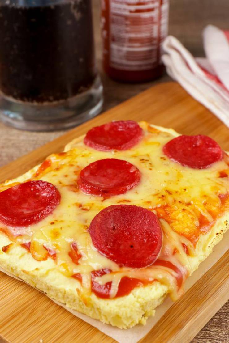 BEST Keto Pizza Bread – Low Carb Keto Air Fryer Pizza