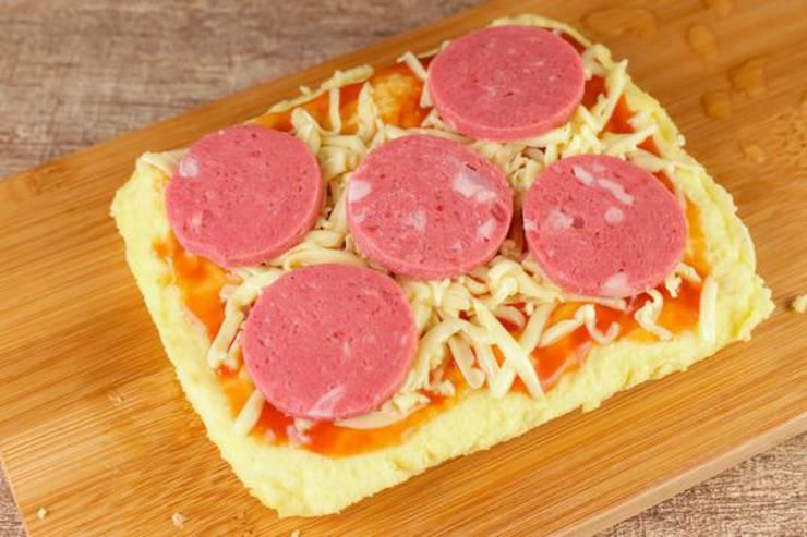 Keto Air Fryer Pizza