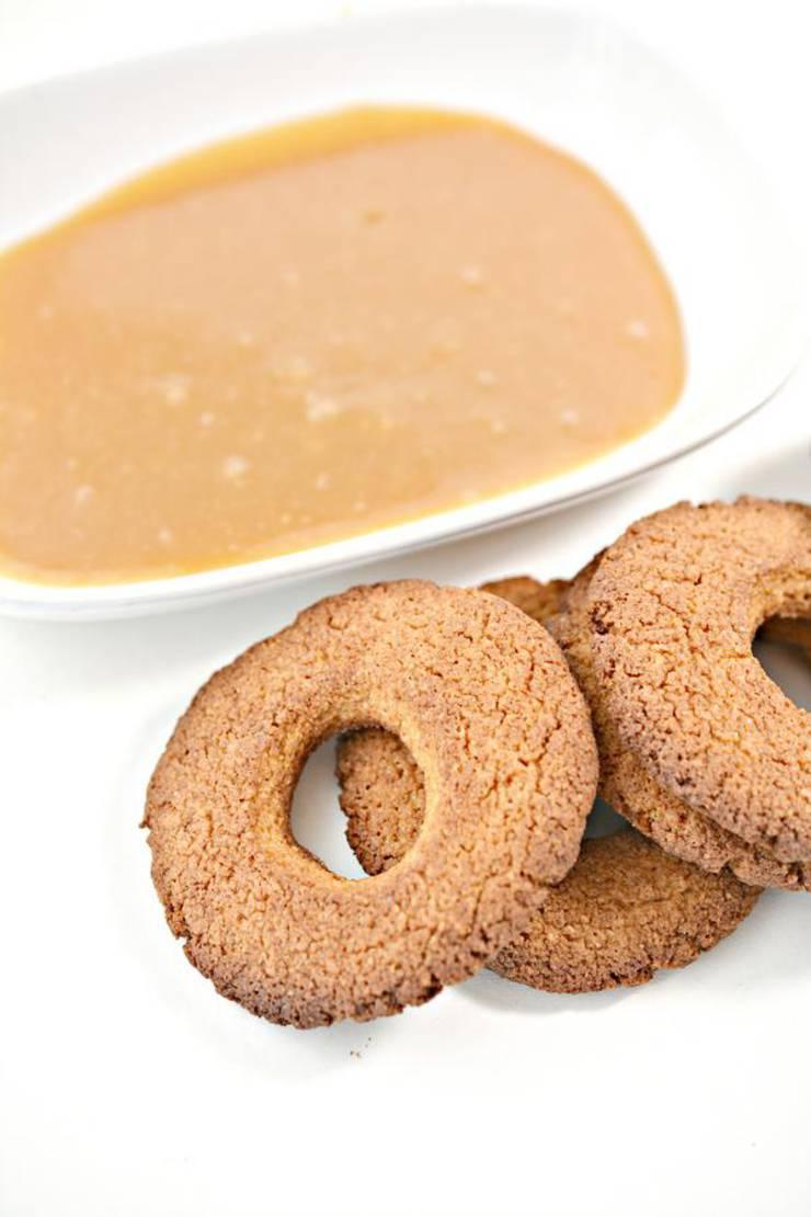 Keto Caramel Delites Cookies