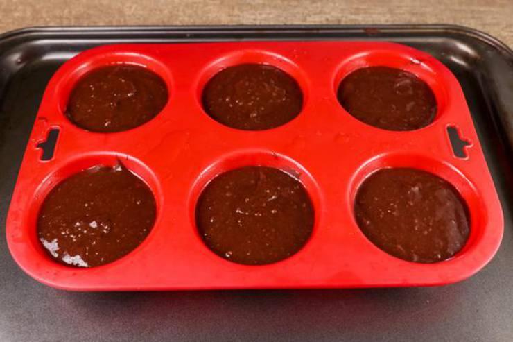 Keto Chaffle Muffins Oreo Cookie