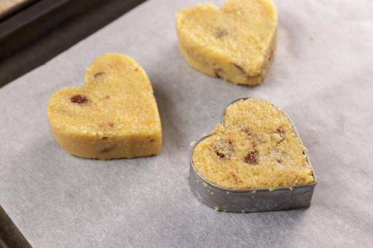 Keto Chocolate Covered Chocolate Chip Cookie Dough Hearts