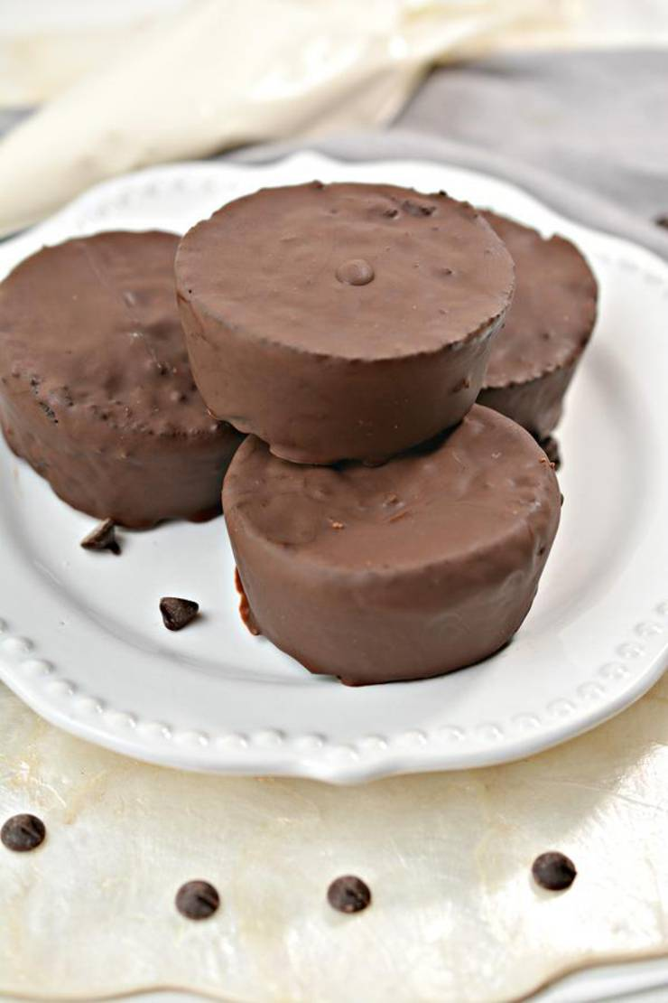 Keto Ding Dongs - Super Yummy Low Carb Copycat Hostess Ding Dongs Recipe | Chocolate Treats For Ketogenic Diet - Desserts - Snacks
