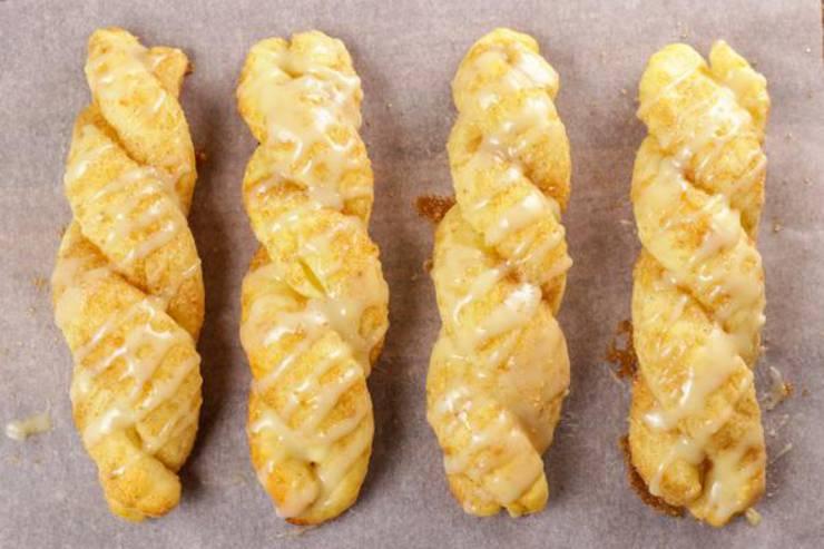 BEST Keto Cinnamon Roll Twists! Low Carb Fathead Dough Cinnamon Roll Idea – Quick & Easy Ketogenic Diet Recipe – Beginner Keto Friendly – Snacks - Desserts - Breakfast