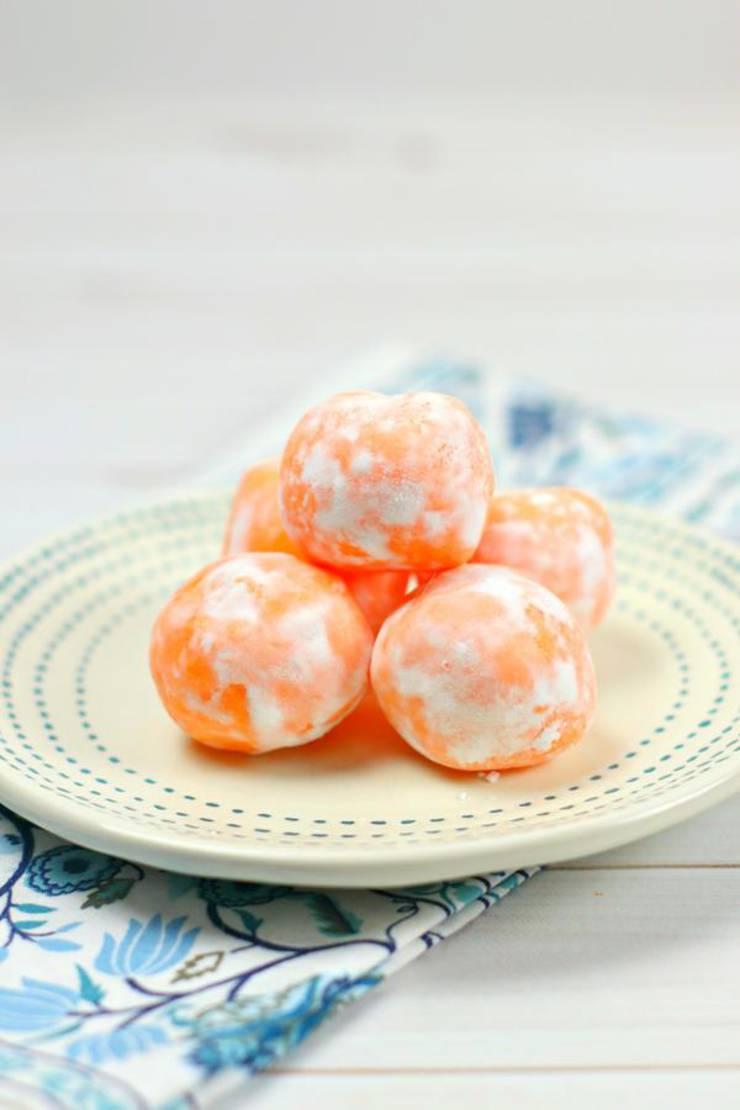 5 Ingredient Keto Orange Creamsicle Fat Bombs – BEST Orange Creamsicle Fat Bombs – NO Bake – Easy NO Sugar Low Carb Recipe