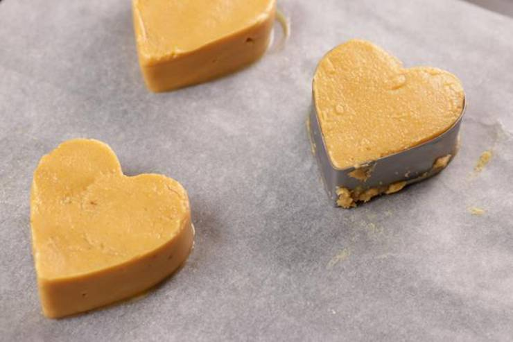 Keto Peanut Butter Chocolate Covered Hearts