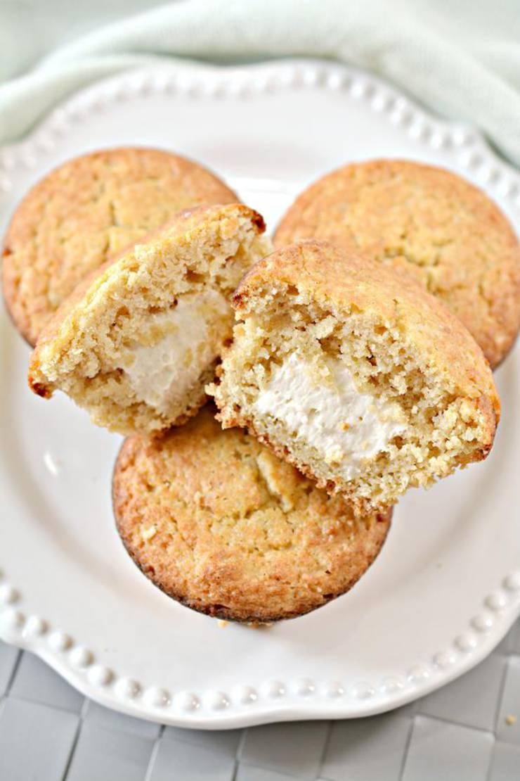 Keto Twinkies – Super Yummy Low Carb Copycat Hostess Twinkies Recipe | Muffin Treats For Ketogenic Diet – Keto Friendly & Beginner - Desserts – Snacks - Breakfast