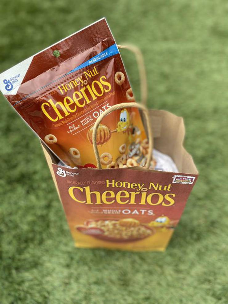 Party Favors Dollar Store Cereal Cheerio