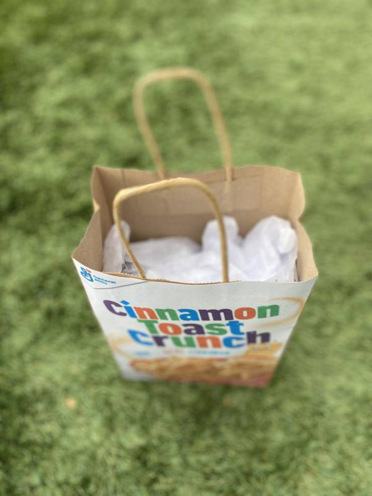 Party Favors Dollar Store Cereal Cinnamon Toast Crunch