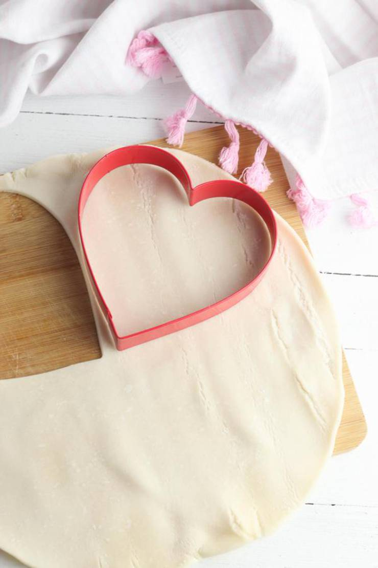 Party Food Heart Hand Pies