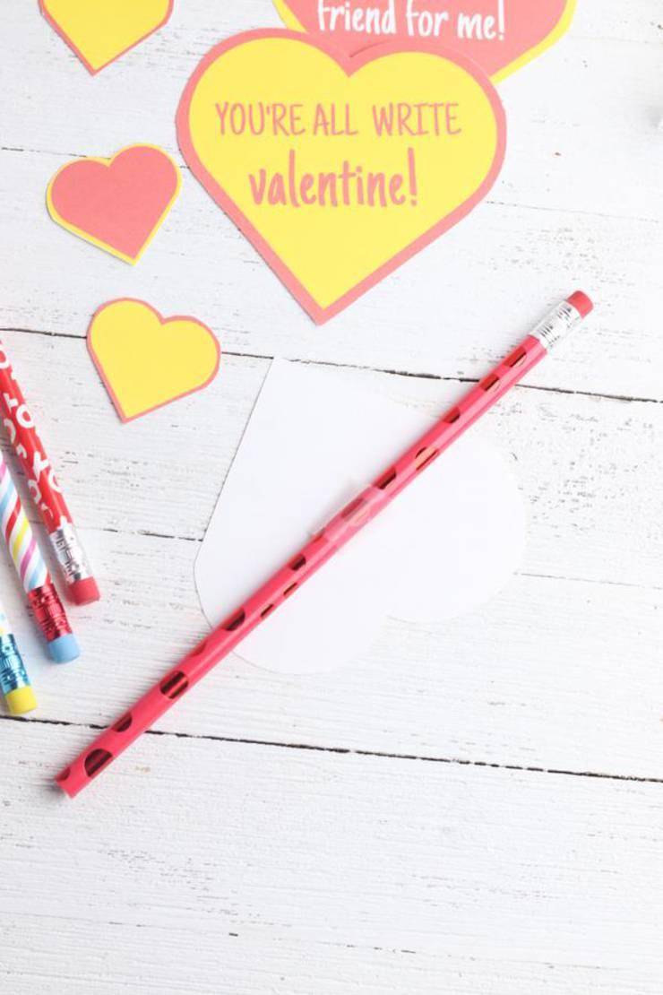 Valentines Pencil