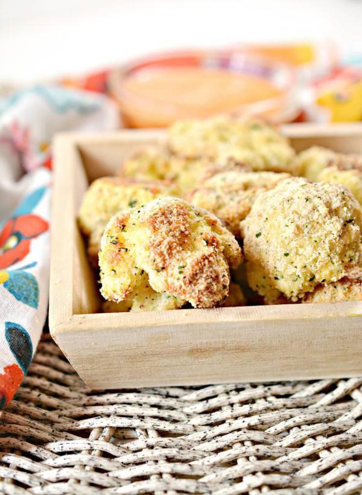 5 Ingredient Keto Cauliflower Bites – BEST Low Carb Keto Air Fryer Cauliflower Ranch Bites Recipe – Easy – Gluten Free – Snacks – Appetizers – Side Dish