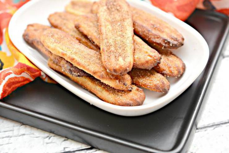 BEST Keto Churro Sticks! Low Carb Air Fryer Churro Idea – Quick & Easy Ketogenic Diet Recipe – Beginner Keto Friendly – Desserts – Breakfast - Snacks