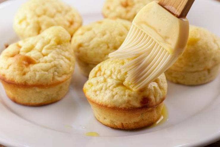 Keto Chaffle Churro Muffins