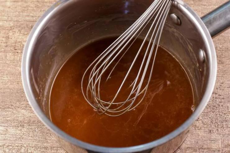 Keto Chaffle Muffins Caramel Filled