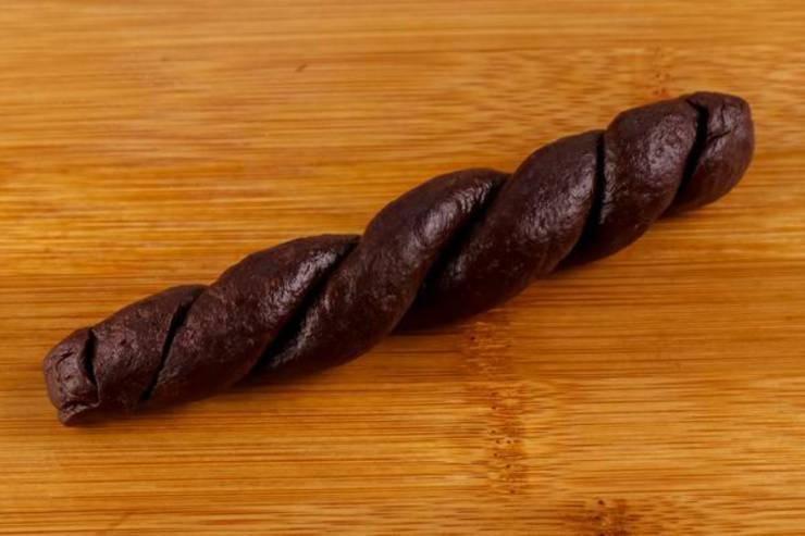Keto Fathead Dough Brownie Twists