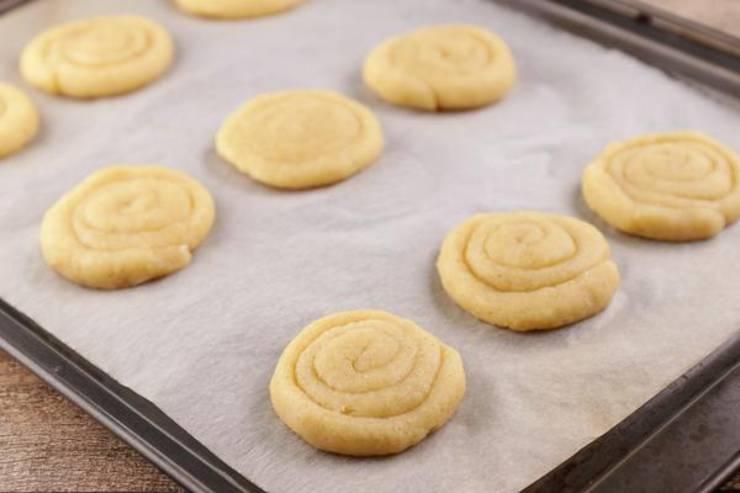 Keto Fathead Dough Mini Cinnamon Roll Cookies