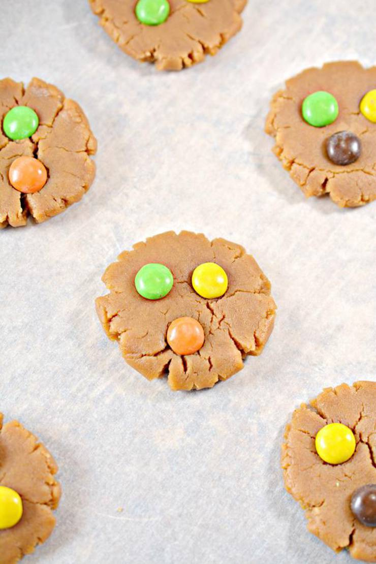 Keto Peanut Butter M And M Cookies