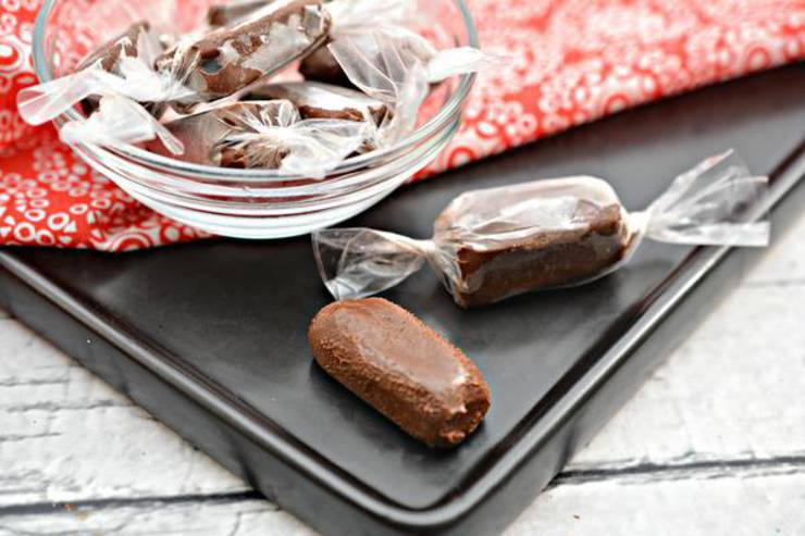 BEST Keto Candy! Low Carb Keto Tootsie Roll Candies Idea – Sugar Free – No Bake - Copycat Quick & Easy Ketogenic Diet Recipe – Completely Keto Friendly