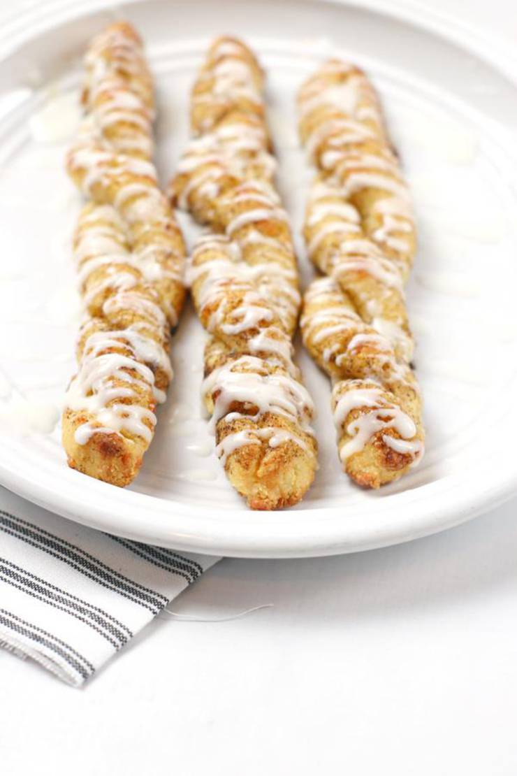 Weight Watchers Cinnamon Rolls – WW Cinnamon Cinnamon Roll Twists Idea – BEST WW Recipe – Breakfast – Treat – Desserts – Snacks with Smart Points