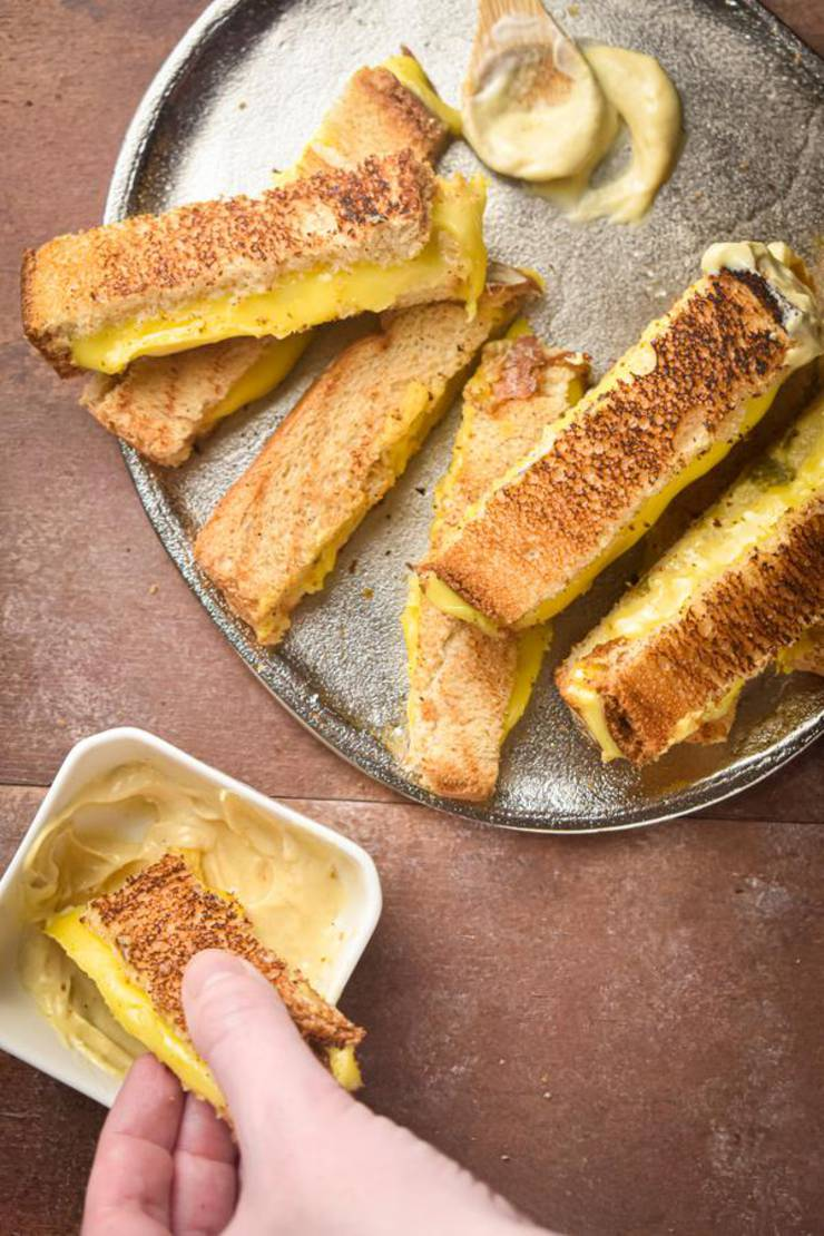 Weight Watchers Grilled Cheese Sticks – BEST WW Recipe – Lunch – Dinner – Side Dishes - Appetizers - Snack with Smart Points