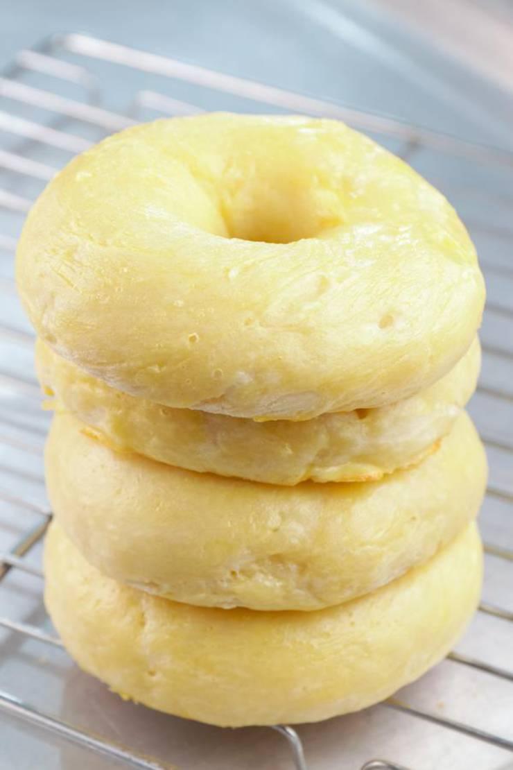 5 Ingredient Bagels – Easy Homemade No Yeast Quick Bagels – BEST Bagels Recipes – DIY Baking - Breakfast - Sandwich Bagels