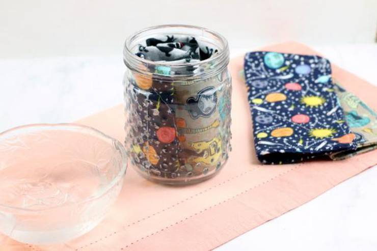 DIY Disinfectant Wipes – BEST Homemade DIY Disinfecting Wipe Recipe – Easy Sew Craft Project - Rubbing Alcohol - Essential Oil - How To Make