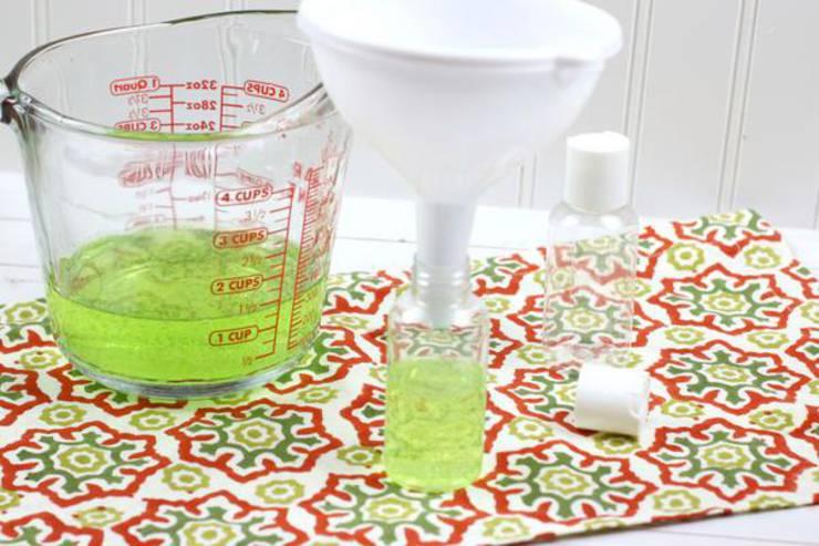 Diy Hand Sanitizer Gel Homemade