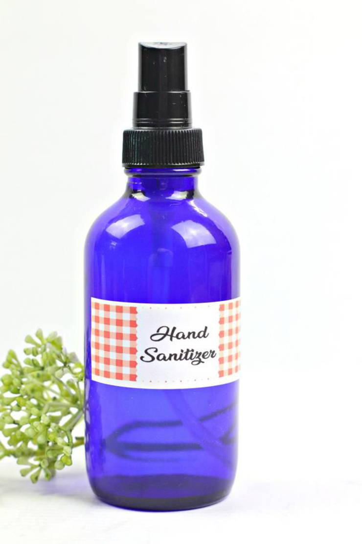 DIY Hand Sanitizer – BEST Homemade DIY Hand Sanitizer Recipe {EASY} Great for Kids and Adults – Essential Oil Hand Sanitizer