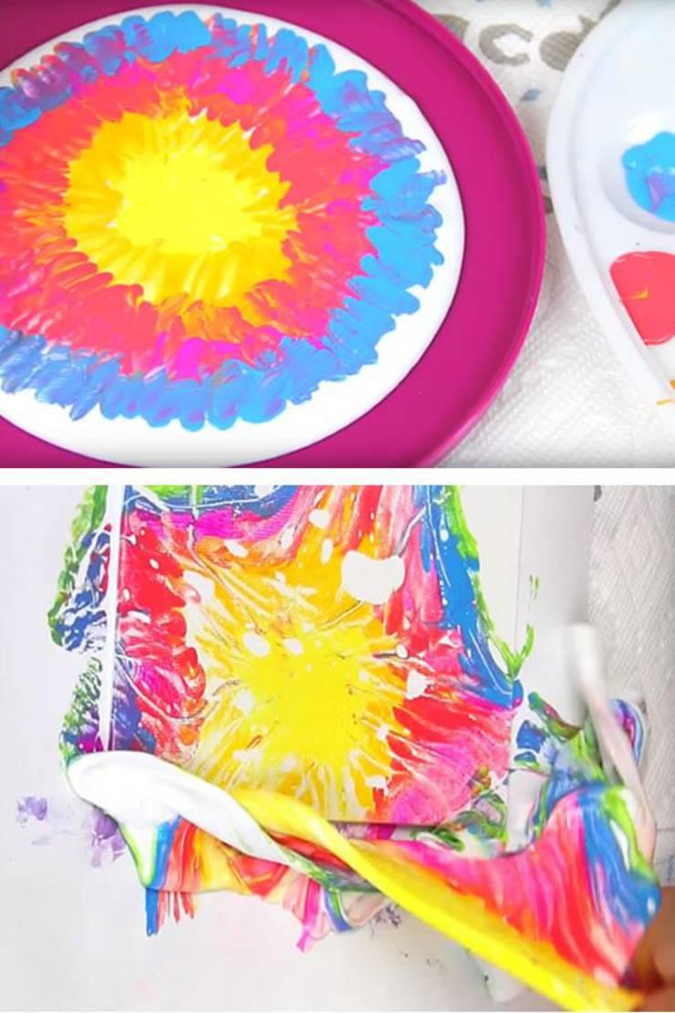 DIY Tie Dye Slime Painting – Slime Kids Activities – FUN Arts and Crafts For Children - Teens - Tweens – Easy – Cheap – Fun