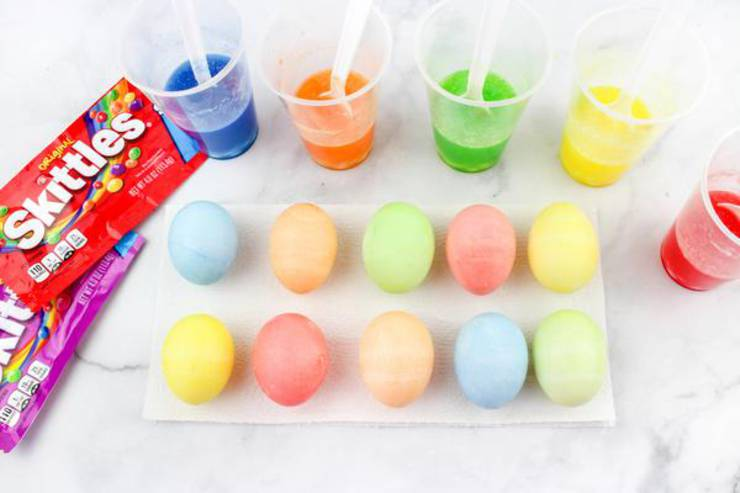 Easter Eggs Skittle Candy